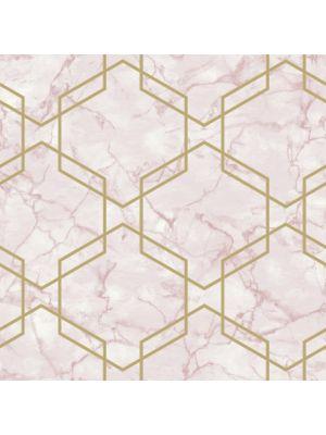 Fibertapet Kaleidoscope Ventura Pink Gold 90601 ST.