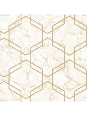 Fibertapet Kaleidoscope Ventura Beige Gold 90602 ST.