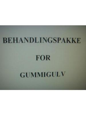 BEHANDLINGSPAKKE GUMMIGULV