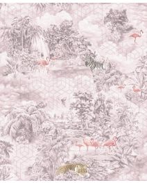 Fibertapet Kaleidoscope Mayang Pink 90662 ST.